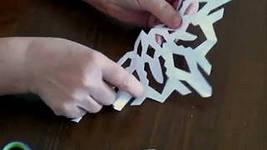 фото как делать снежинки