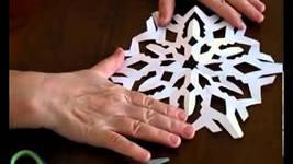 как правильно делать снежинки фото