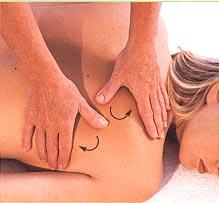 как правильно делать массаж спины фото
