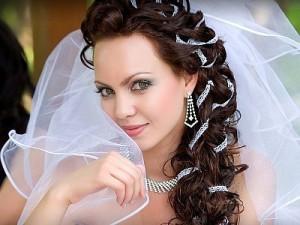 Виды свадебных причёсок