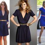 Синее платье на все случаи жизни в разных оттенках
