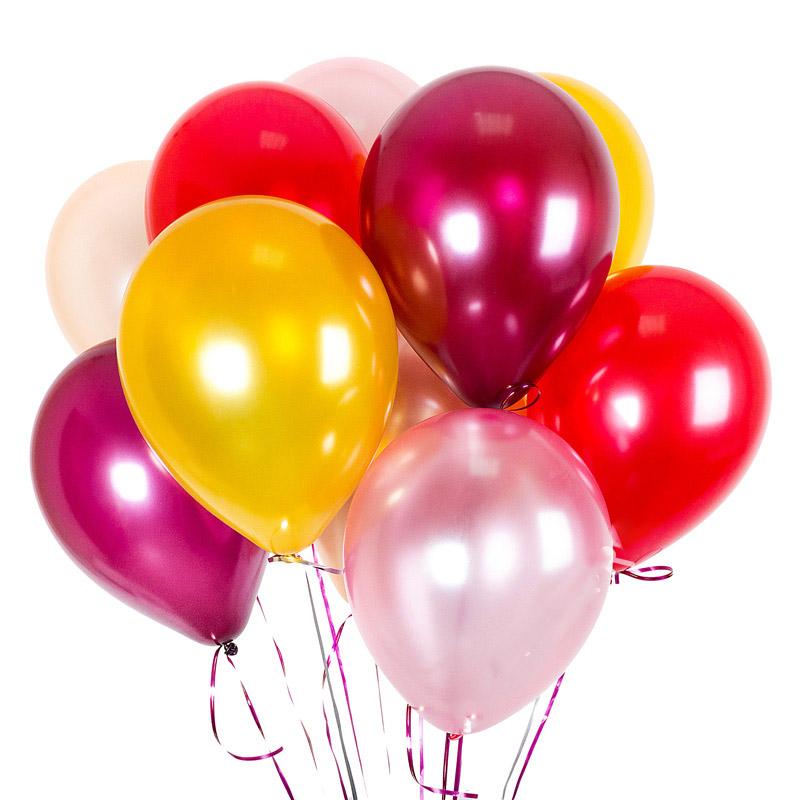 Латексные гелевые шарики прекрасный вариант для праздника